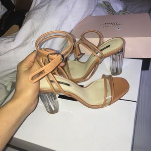 Shoes - Zara clear heels