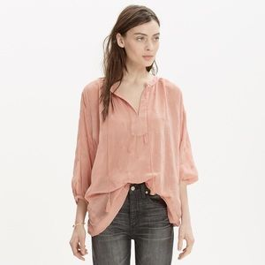 Madewell Embroidered Tunic
