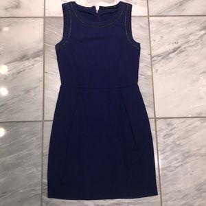 Beautiful blue Zara dress w chain detail