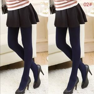 Accessories - Thick and velvety soft slimming tights