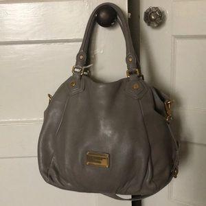 Marc Jacobs large gray purse