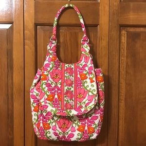 Vera Bradley Lilly Bell Combination Backpack/Tote