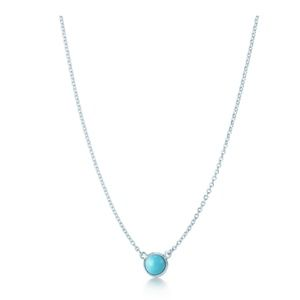 Tiffany's elsa peretti color by the yard pendant