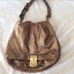 Metallic Marc Jacobs hobo bag