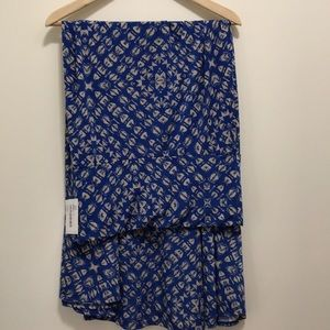 NWT lularoe maxi skirt (large)