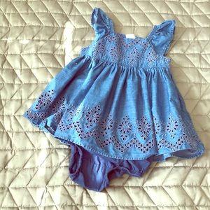 Gap chambray Dress size 3-6 M