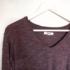 Purple Madewell long sleeve shirt