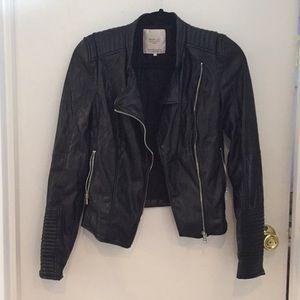 Zara faux leather Moto jacket
