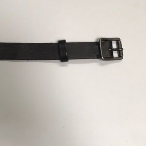 Lucky Brand Black leather belt