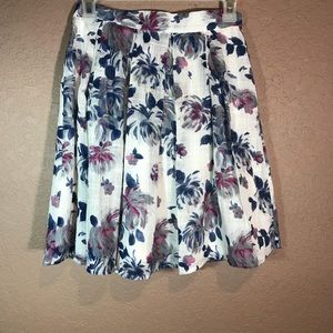 Alice moon floral print skirt size sml