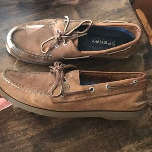 Men's Leather Sperry Top-Siders