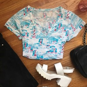 Lilly Pulitzer patterned Tee