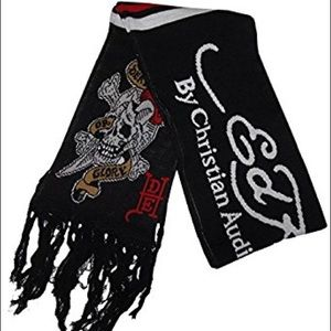 {Ed Hardy} Death or Glory long scarf/wrap