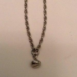 Jewelry - Silver Hershey kiss vintage charm necklace