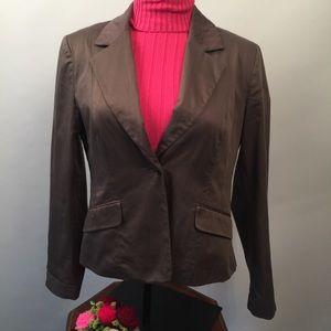 H&M  brown blazer Sz 14