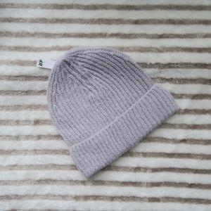 Light Purple Knit Beanie H&M, One Size