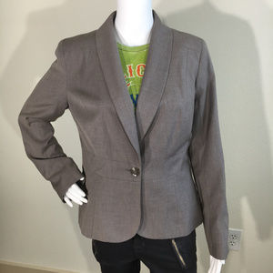 Merona Career Blazer in Stone Size 12