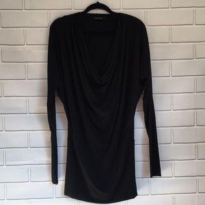 Brand new Black Halo body con cowl neck dress