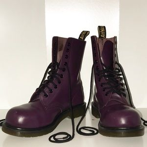 Authentic Maroon Dr. Martens