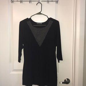Stitch Fix Black Shirt