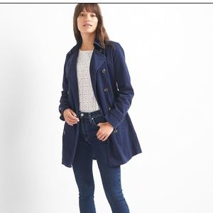 "Gap ""classic trench coat"" size XS"
