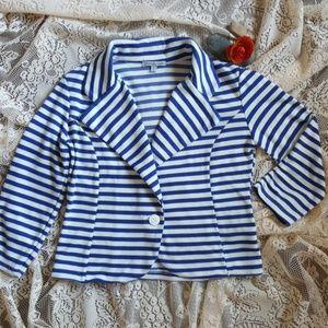 Charlotte Russe cotton blazer