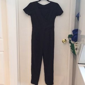 Other - Custom lined silk jumpsuit with pockets