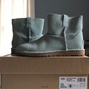 cfeecd89899 UGG Shoes   1 Hr Sale Classic Unlined Mini Perf Boots   Poshmark