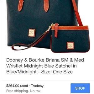 Dooney   Bourke Bags - Dooney   Bourke Small Brianna   Medium Wristlet 3d0adc7841d50