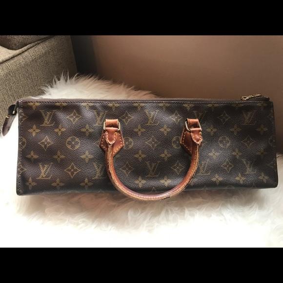 bfdbb80b5f5a Louis Vuitton Handbags - RARE! Authentic Louis Vuitton Sac Triangle Satchel