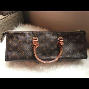 RARE! Authentic Louis Vuitton Sac Triangle Satchel