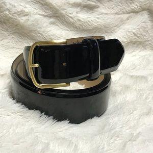 JCrew Patent Leather Belt
