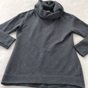 Merona Cowl Funnel Neck Long Textured Sweater