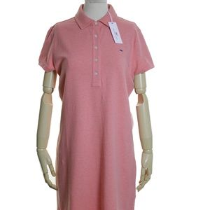 VINEYARD VINES Whale Polo Shirt Knit Shirtdress