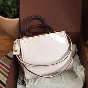 NWT Coach 1941 Rogue 25 Leather Shoulder Bag