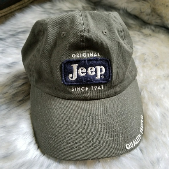 Jeep Other - Jeep Dad Hat olive green navy blue cotton ball cap cb3774166d9