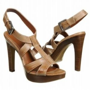 Calvin Kline platform heels