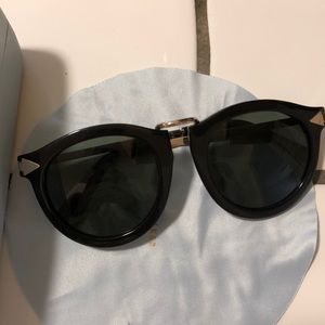 Karen walker harvest sunglasses with box and cloth