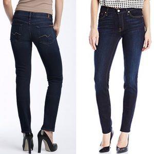 7FAM • Roxanne dark skinny jeans