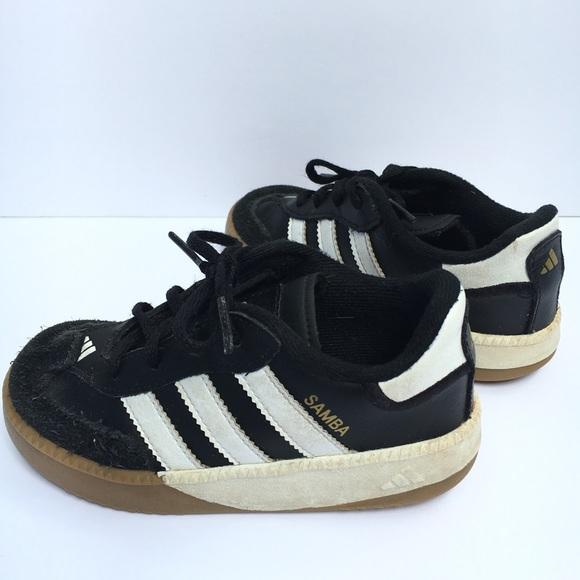 8862ae398865 adidas Other - Adidas Samba black white soccer athletic shoe 8.5