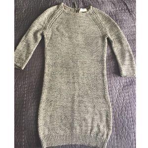Zara Knit Shift Ribbed Dress
