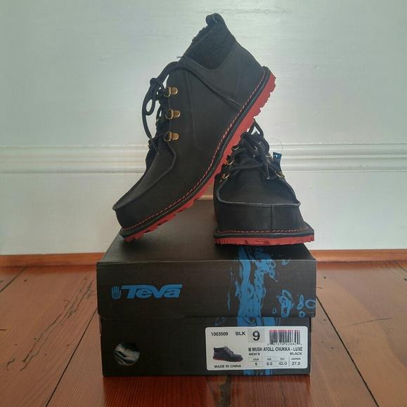 ea2195f765cb Teva shoes boots mens mush atoll chukka boot poshmark jpg 579x580 Teva mush  boots