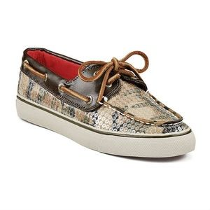 Sperry Top-Sider Camo Sequin Boat Shoes