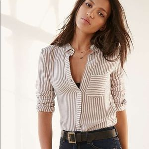 Urban Outfitters BDG York button up stripe!
