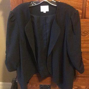 LOFT black jacket size xl