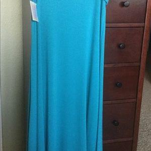 LulaRoe Maxi Skirt Large NWT