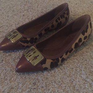 Tory Burch Celina leopard print 6 shoes flats
