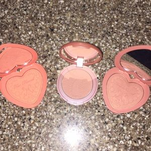 Full sized Too Faced and Tarte Blush