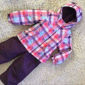 Other - ▪️Plaid Puffer Coat & Snowsuit▪️