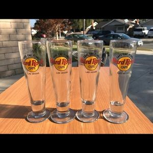 Other - Hard Rock Cafe Beer Glasses
